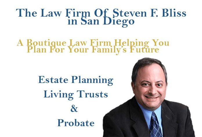 San Diego Probate and Estate Planning Attorney Steve Bliss
